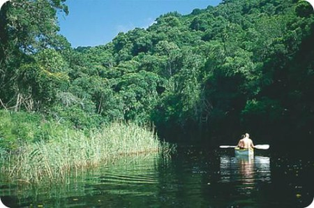 Canoe the Touw River in the Wilderness while enjoying top Accommodation we have to offer.