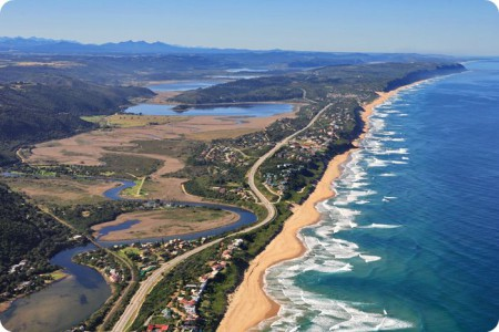 Wilderness, one of the most romantic seaside resorts on the Garden Route