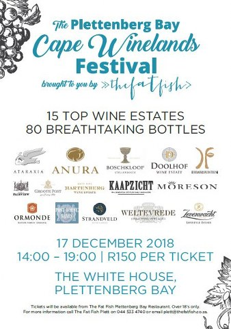 The Plettenberg Bay Cape Winelands Festival
