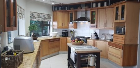 Well equipped kitchen at Luxury Pet Friendly Wilderness Villa